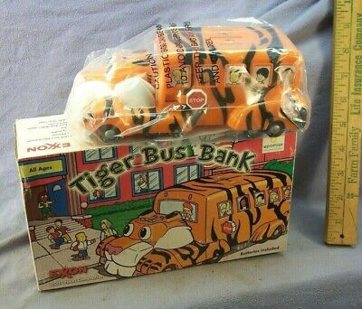 2001 Exxon Tiger Bus Bank In Original Box (No Batteries)