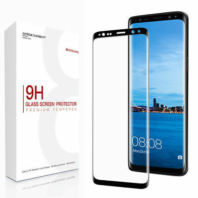 For Samsung Galaxy S9 S10 Plus Note 9 Screen Protector Full Cover Tempered Glass