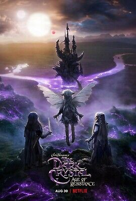 "NETFLIX- DARK CRYSTAL AGE OF RESISTANCE 11""x17"" TV SERIES POSTER PRINT #1"