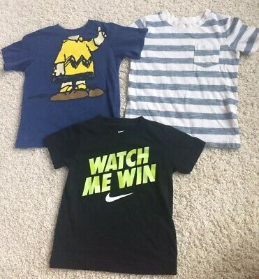 Lot of 3 Boys T-Shirts Size 3T Jumping Beans, Cherokee, Okie Dokie