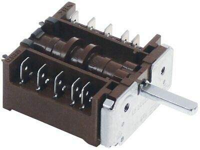 Operation Switch 4 Operating Positions 4No Sequence 0-1-2-3 16A Shaft 6X4.6Mm
