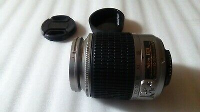 Nikon AF-S Nikkor 55-200mm f/4-5.6 G ED DX Lens [AS-IS] #00529 Silver [RARE]
