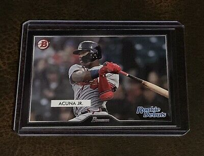 2019 Topps On Demand 55 Bowman #R5!Ronald Acuna Jr. Rookie Debuts