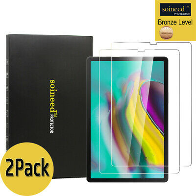 "2-Pack Samsung Galaxy Tab S5e 10.5"" T720 T725 Tempered Glass Screen Protector"