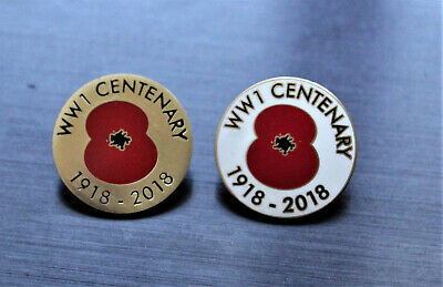 GENUINE RARE WW1 POPPY PIN COLLECTION New In BAGS