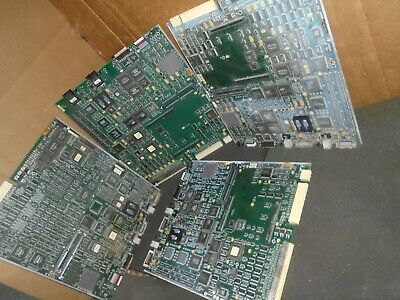11 Lbs  3 Oz  Vintage Cisco Circuit Boards W Motorola Ceramic CPU For Gold Scrap