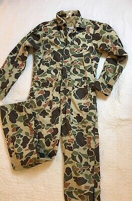 0b4a30cb27b6c Vintage Walls Blizzard Pruf Camouflage Coveralls Boys Size 16 Camo Hunting