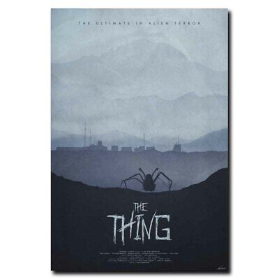 The Thing 24x36inch 1982 Classic Horror Movie Silk Poster Wall Decoration
