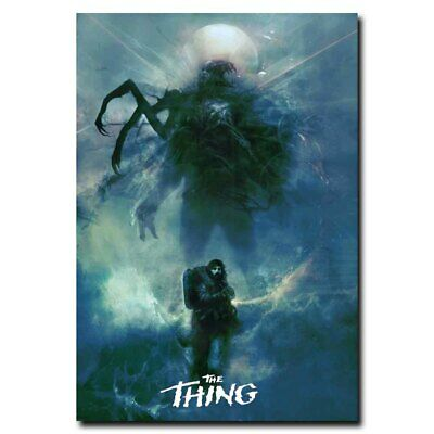 The Thing 24x34inch Classic Horror Movie Silk Poster Wall Decoration