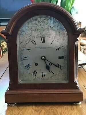 "Antique Bracket/Mantel Clock - ""Manoah Rhodes & Sons Ltd"""