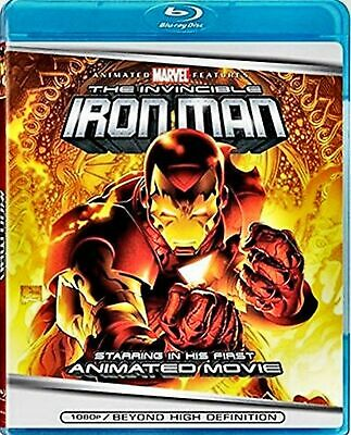 New Blu-Ray // The Invincible Iron Man // Marvel Full Length Feature