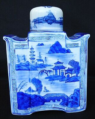 Antique Ching Dynasty Chien-lung Years Chinese Porcelain Decanter w/ Lid / Cup