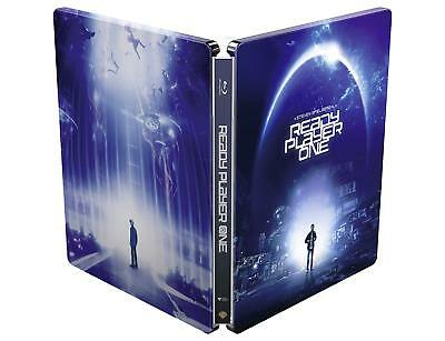 Ready Player One Steelbook Bluray Import New & Sealed