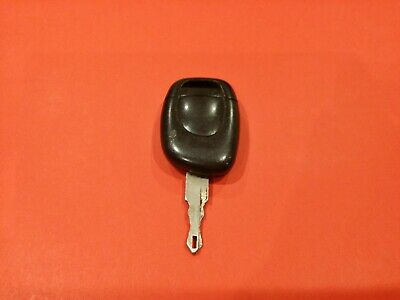 RENAULT 1 BUTTON KEY REMOTE FOB case complete with circuit board