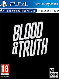 Blood & Truth PSVR Digital Download Code Playstation 4