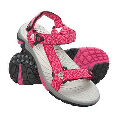 Girls Bright Pink Tide Kids Sandals Summer Holiday Beach Shoes