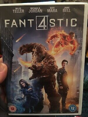 Fantastic Four [2015] (DVD) Marvel BRAND NEW SEALED FREE UK POSTAGE