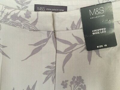 LADIES M/&S CLASSIC SIZE 8 NAVY PULL ON EASYCARE TAPERED LEG TROUSERS FREE POST