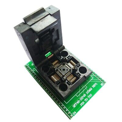 Tqfp48 Qfp48 To Dip48 0.5Mm Pitch Lqfp48 To Dip48 Programming Adapter Mcu T K2Q1
