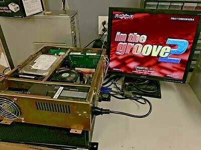 Roxor In the Groove 2 Dancing DDR arcade jamma PCB board game