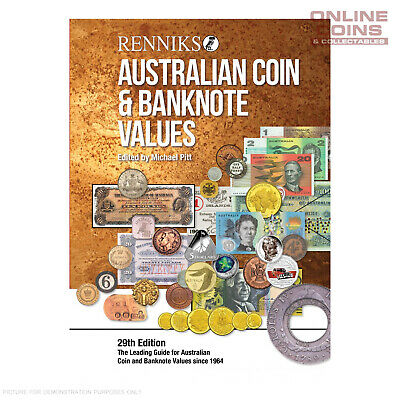 Renniks Australian Coin & Banknote Values 29th Edition SOFTCOVER
