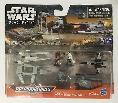 Star Wars Micro Machines Fight The Imperial Might Rogue One open box