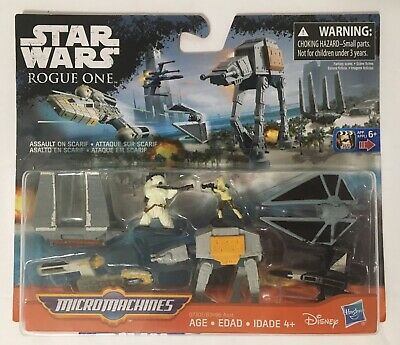 Star Wars Rebels Micro Machines assault on scarif Playset Disney Hasbro