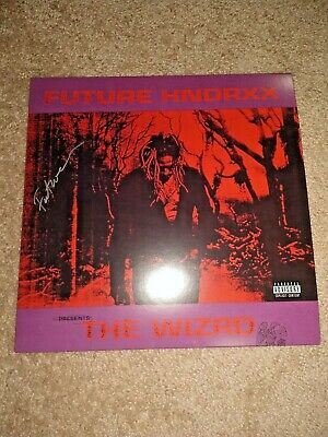 FUTURE HNDRXX PRESENTS: The Wizrd SIGNED Limited Colored Vinyl LP  autographed