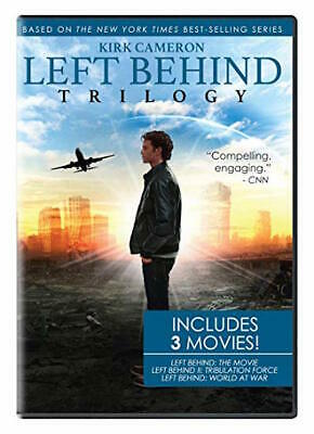 Left Behind Trilogy Dvd - Single Disc Edition - New Unopened - Kirk Cameron