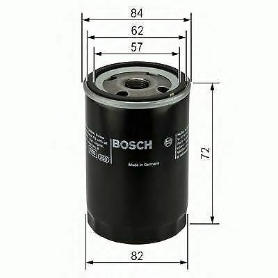 Engine Oil Filter Oe Quality Replacement Bosch 0451103316