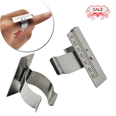New Dental Finger Ruler Span Measure Scale Endodontic Instrument Dentist Tools