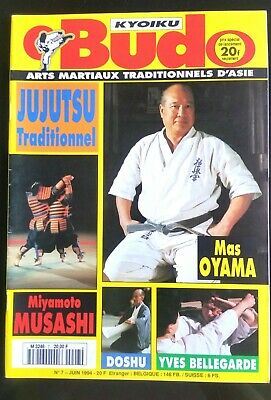 Arts Martiaux Kyoiku Budo n°7 du 6/1994; Jujutsu traditionnel/ Yves Bellegarde