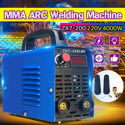 220V Tig 200A Lcd Igbt Portable Inverter Welder Mma Arc Stick Welding Machine