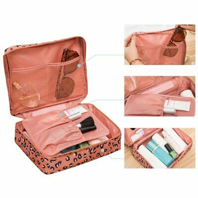 Professional Large Makeup Bag Cosmetic Case Handle Organizer Travel Kit Portable