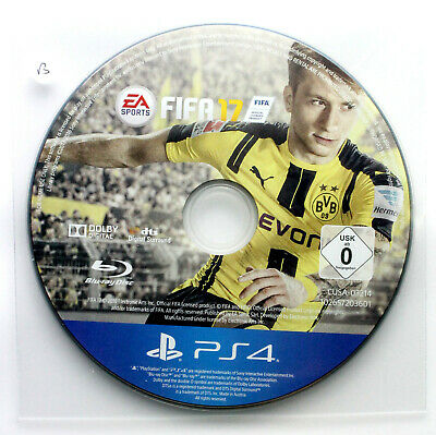 FIFA 17 (DISC ONLY) - PS4 Playstation 4 - FREE POST
