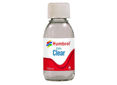 RC Humbrol Satin Clear - 125ml Bottle  AC7435