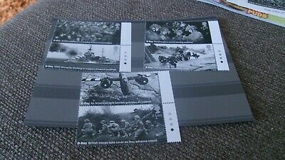 GB 2019 75th ANNIVERSARY OF D-DAY SET 6 MNH STAMPS TRAFFIC LIGHTS ON TABS 6JUNE