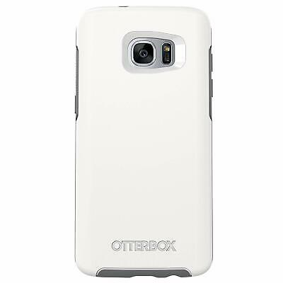 NEW OtterBox Symmetry Series Ultra Slim Case Samsung Galaxy S7 Edge WHITE GREY