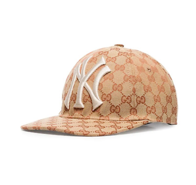 """4eff2adc4 GUCCI YANKEE CAP """"Baseball cap with Yankees patch"""" - $675.00 