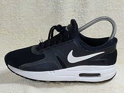 info for 0f99f be1fe Nike Air Max Zero Essential Ladies or Young trainers Black/White UK 2.5 EU  35