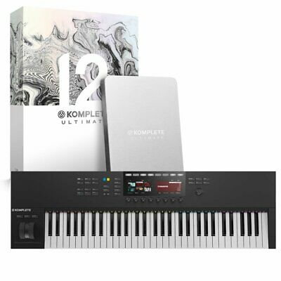 Native Instruments Komplete Kontrol S61 MK2 With Komplete 12 Collectors Edition