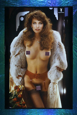1985 Playboy Magazine Rare Cherie Witter Collector Promo Poster 24X36 OOP   85CW