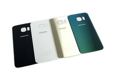 Genuine SAMSUNG Galaxy S6 Edge (G925F) Battery Cover | Black White Gold Green