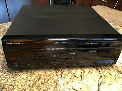 Pioneer Elite CLD 79 Reference Laserdisc Player Working in Mint Condition