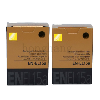 2*EN-EL15a Li-Ion Battery For Nikon D7100  D810 D7000 D750 D610 D800 camera