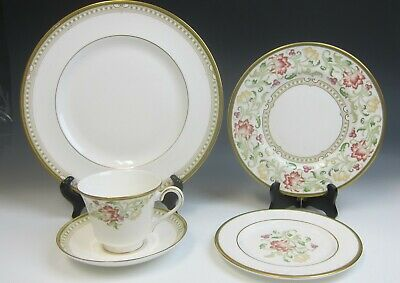 Royal Doulton China LICHFIELD 5 Pc Place Setting EXCELLENT Multi Available