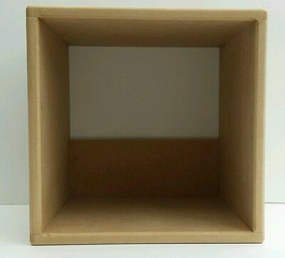 "12 ""Pair Of  Record Storage Cube  ( SPECIAL OFFER TWIN PACK)"
