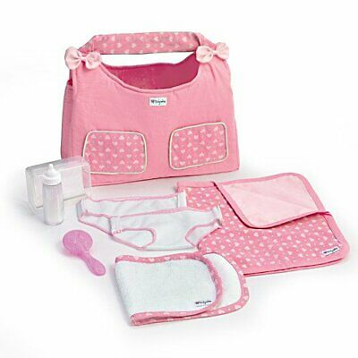 """Ashton Drake Diaper Bag Baby Doll Accessory Set for So Truly Mine Baby Doll 15"""""""