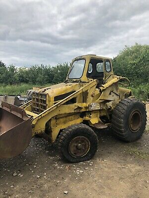 Weatherill Hydraulic Loading Shovel Tractor Fordson Major