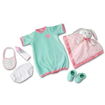Nighty, Night Baby Doll Accessory Set Sleeper Clothes Set For So Truly Mine Doll